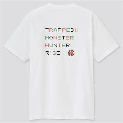 ユニクロのモンスターハンターライズ UT グラフィックTシャツ(半袖・レギュラーフィット)