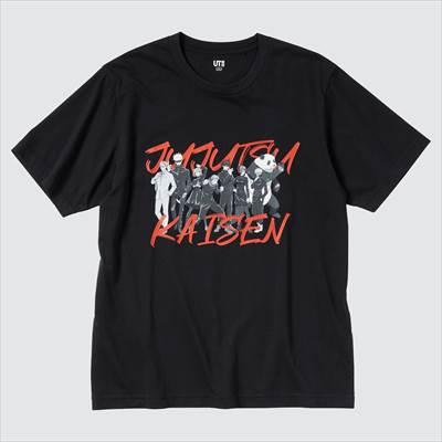 ユニクロのTVアニメ 呪術廻戦 UT グラフィックTシャツ(半袖・レギュラーフィット)