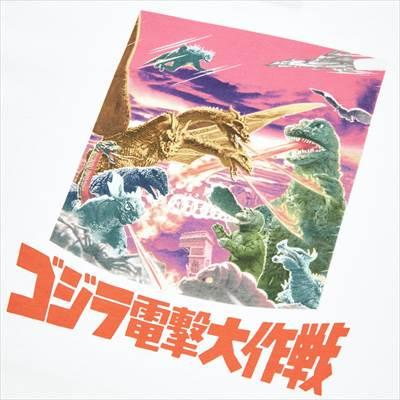 ユニクロのゴジラ ワールド UT グラフィックTシャツ(半袖・レギュラーフィット)