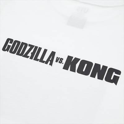ユニクロのKIDS ゴジラ ワールド UT グラフィックTシャツ(半袖)