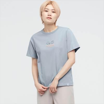 ユニクロのピーナッツ 2021 秋冬 UT グラフィックTシャツ(半袖・リラックスフィット)