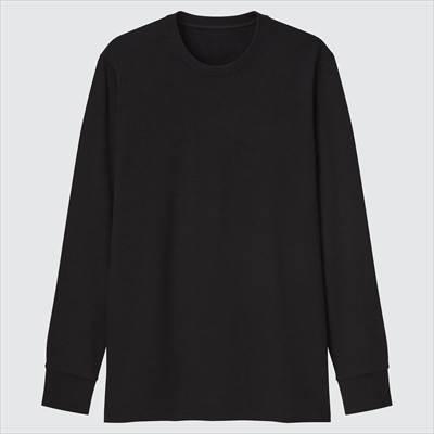 ユニクロのヒートテックウルトラウォームクルーネックT(超極暖・長袖)2021年秋冬モデル