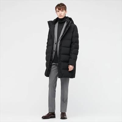 ユニクロの2021年秋冬・新作モデルのシームレスダウンコート