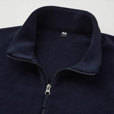 ユニクロのフリースフルジップジャケット(長袖)