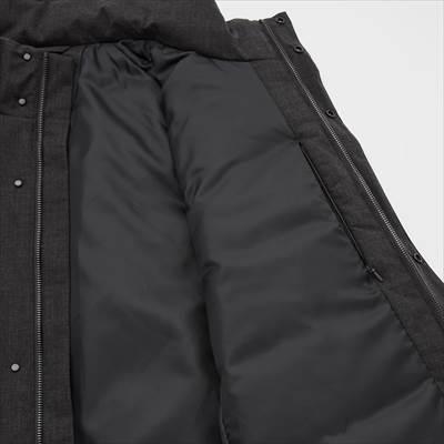 ユニクロのハイブリッドダウンコート(2021年秋冬モデル)