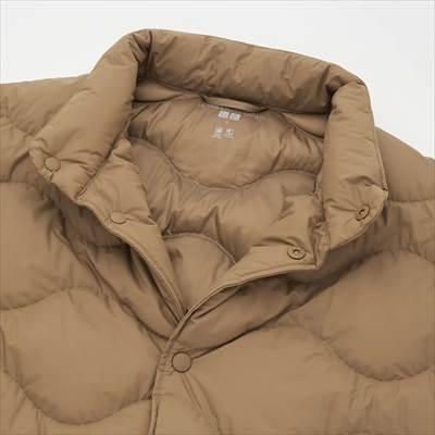 ユニクロの2021年秋冬・新作モデルのウルトラライトダウンウェーブキルトジャケット